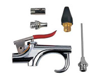 Air blow gun with 4 nozzles