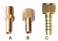 Connector for hose