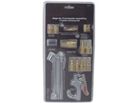 17pcs Pneumatic accessories kit