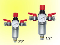 Air compressor filter regulator