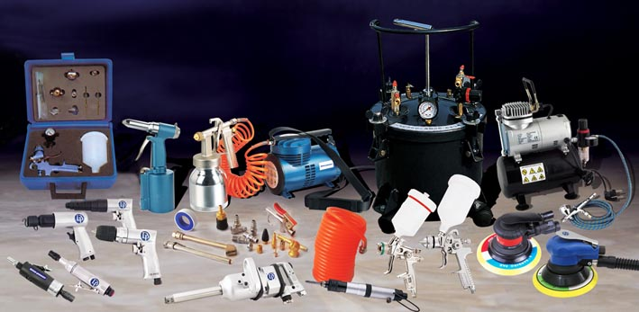tools,air tools,impact wrench,air sander,spray guns,air nailer,air